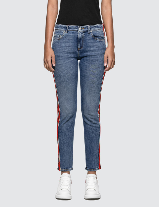 Alexander McQueen Fit Denim Trousers