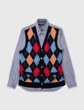 Comme des Garçons Shirt Comme Des Garçons Shirt Knitvest Shirt Picture