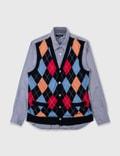 Comme des Garçons Shirt Comme Des Garçons Shirt Knitvest Shirtの写真