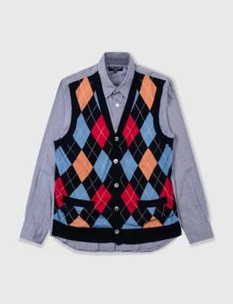 Comme des Garçons Shirt Comme Des Garçons Shirt Knitvest Shirt