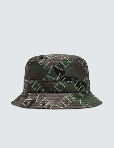 22faada8b1a Valentino · All Over Logo Bucket Hat