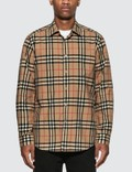 Burberry Check Cotton Poplin Shirt Picutre