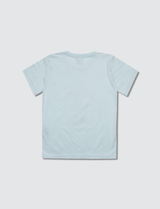 Undercover Short Sleeve T-Shirt Pale Blue Kids
