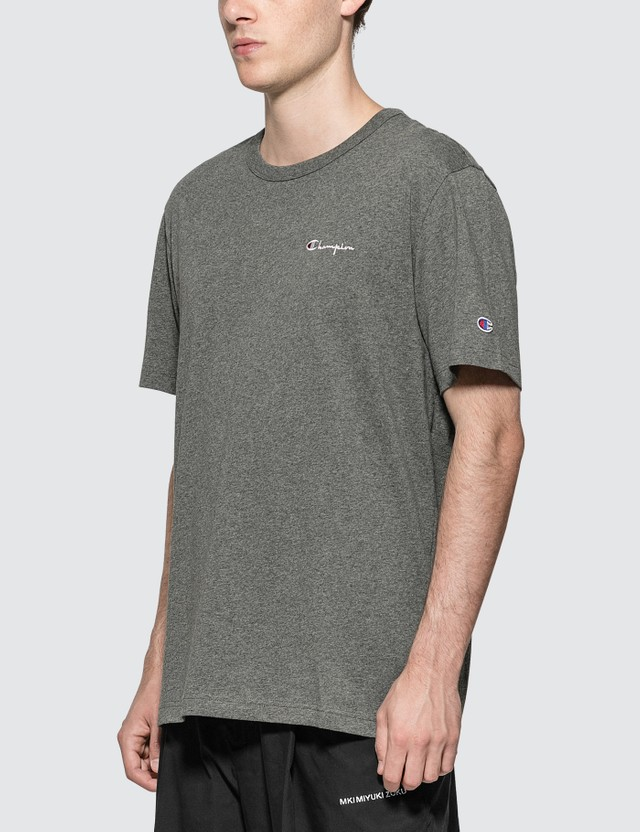 Champion Reverse Weave Small Script Logo T-Shirt