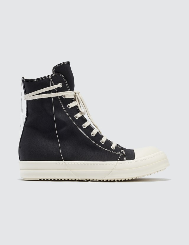 Rick Owens Drkshdw Two Tone Stitching Sneaker