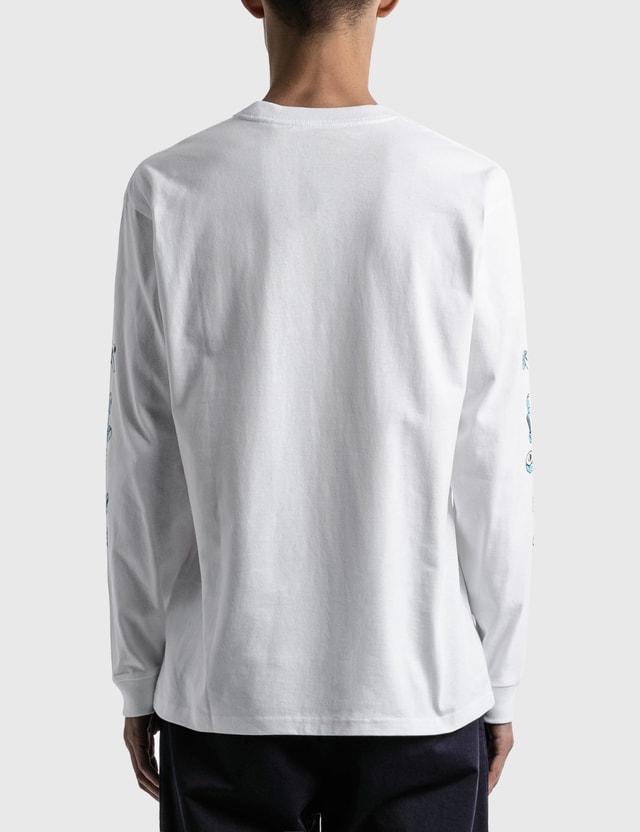 Carhartt Work In Progress Screw Long Sleeve T-shirt White Men