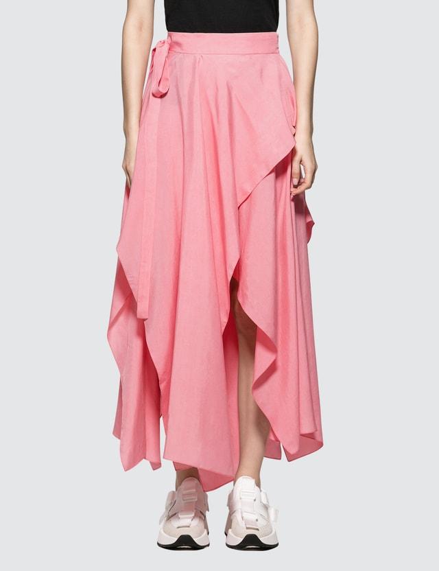 JW Anderson Handkerchief Skirt Bubblegum Women