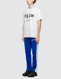 MSGM Brush Stroke Logo S/S T-Shirt