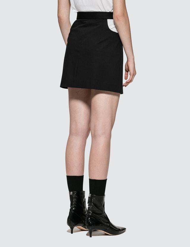 Helmut Lang Cut Off Skirt