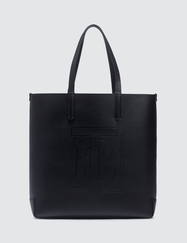 Burberry TB Embossed Monogram Tote Bag