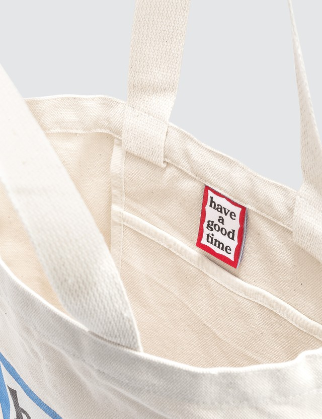 Have A Good Time Blue Frame Tote Bag