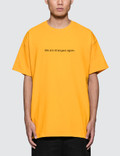 """Fuck Art, Make Tees """"We Are Strangers Again"""" T-Shirt Picture"""