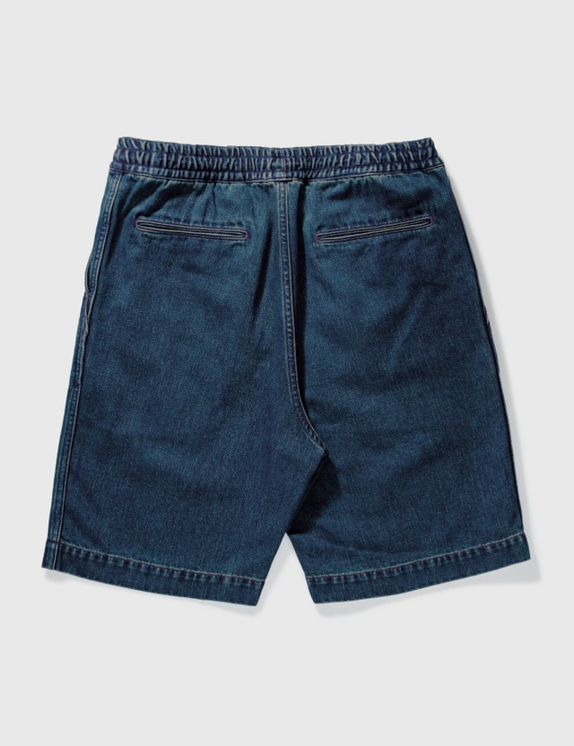 Nanamica Denim Easy Shorts Indigo Ccy Denim Men