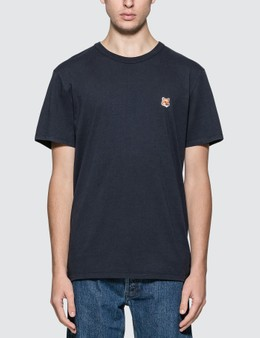 Maison Kitsune Fox Head Patch T-shirt