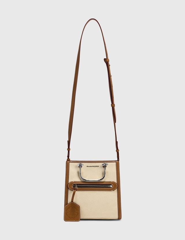 Alexander McQueen The Short Story Bag Beige Women