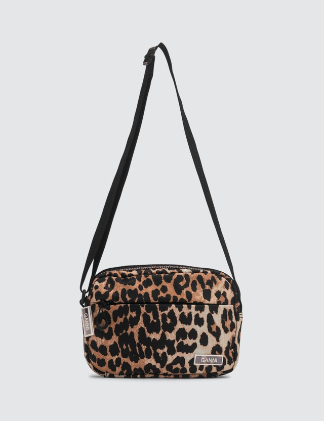 Ganni Tech Nylon Crossbody Bag
