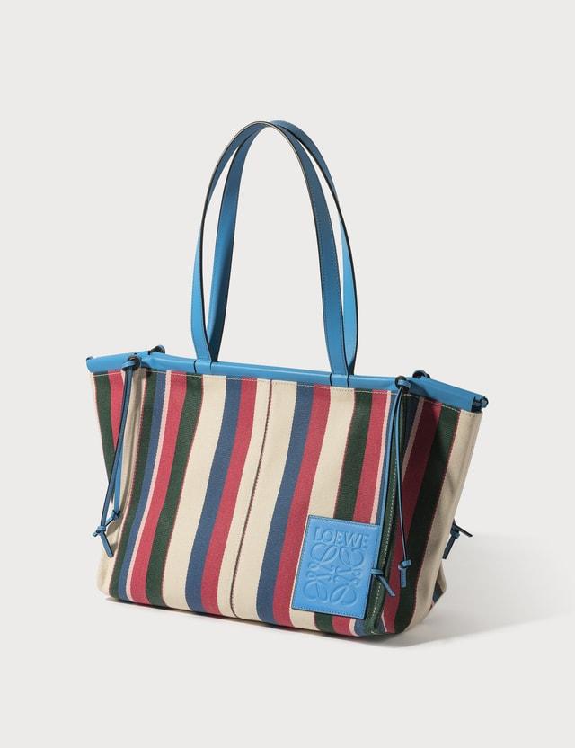 Loewe Stripes Sky Cushion Tote Bag