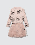 NUNUNU Skull Robot Tulle Dress Picture
