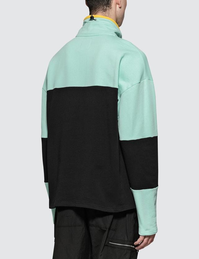 Napapijri Silver Logo Pullover Jacket Blue / Black Men