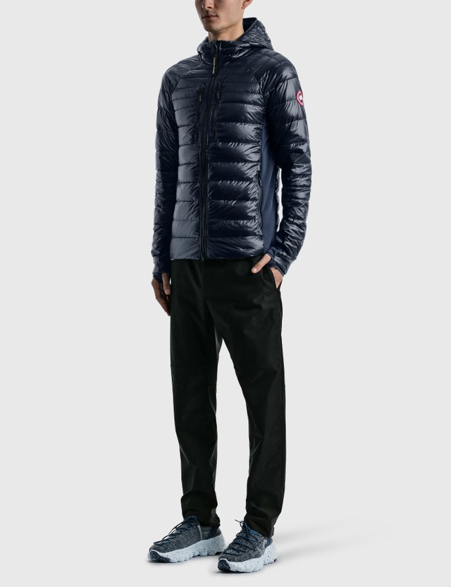 Canada Goose Hybridge Lite Tech Down Hoody Atlantic Navy Men