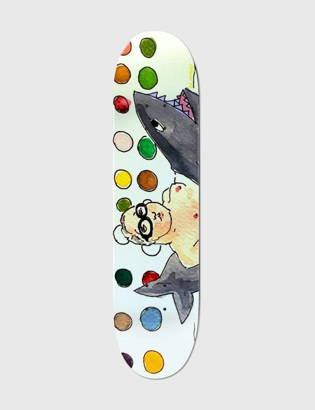 "An OutKast ""His Art Is Deadly"" Skateboard Deck Multi Unisex"