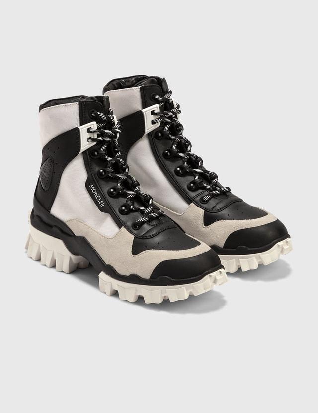 Moncler Chucky Boots White/black Women