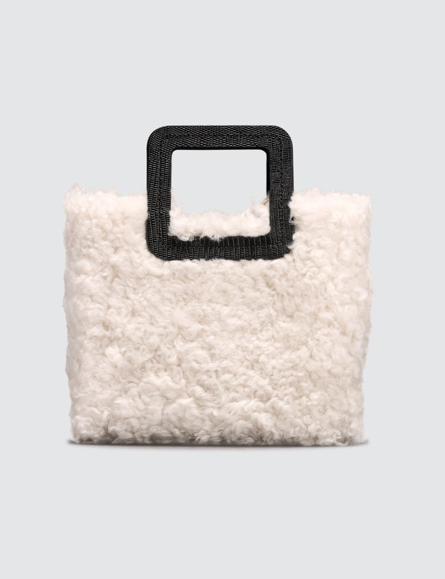 Staud Mini Shirley Shearling Bag
