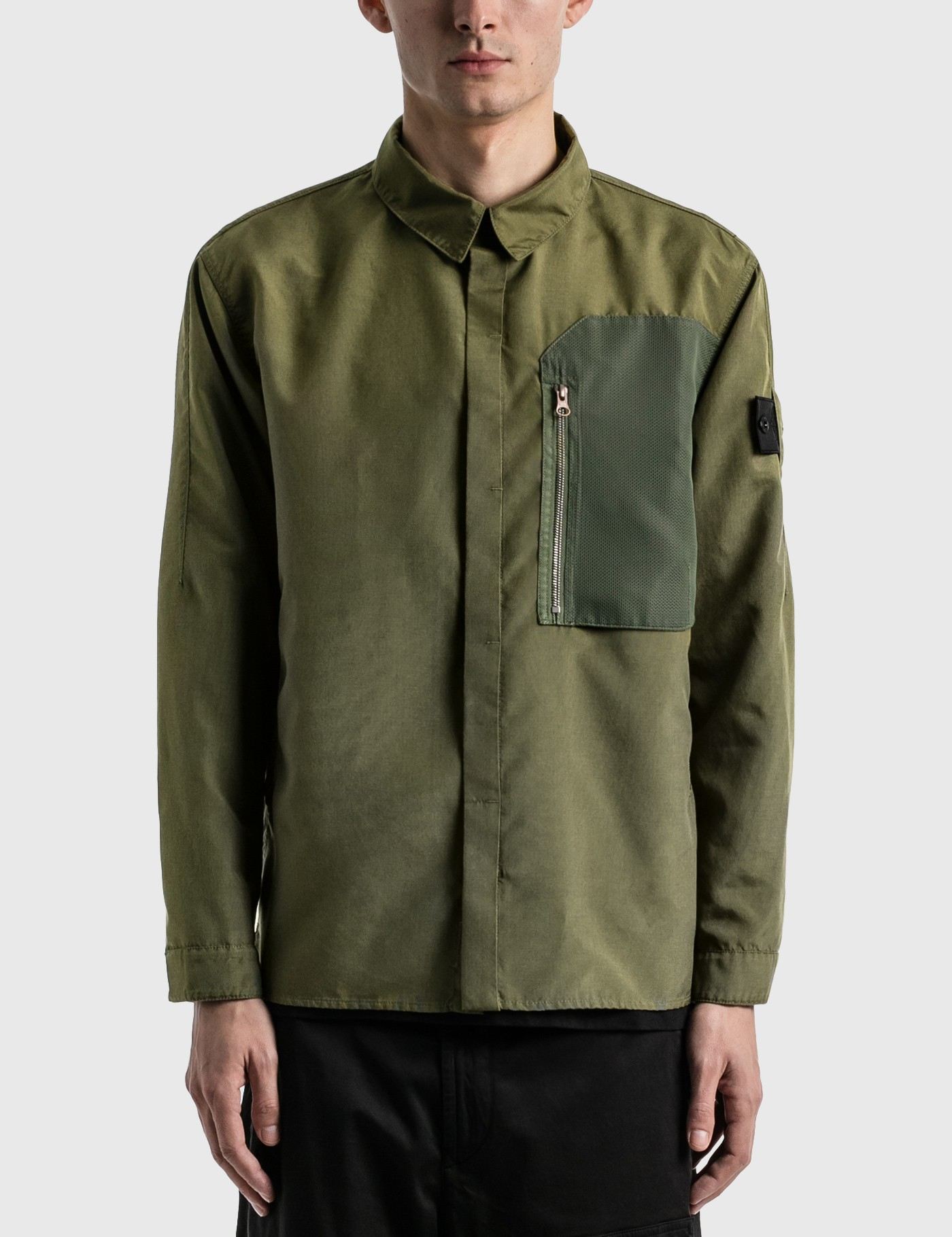 Stone Island Shadow Project Linings VENTED OVERSHIRT