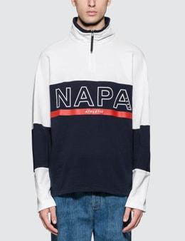 Napapijri Silver Logo Pullover Jacket