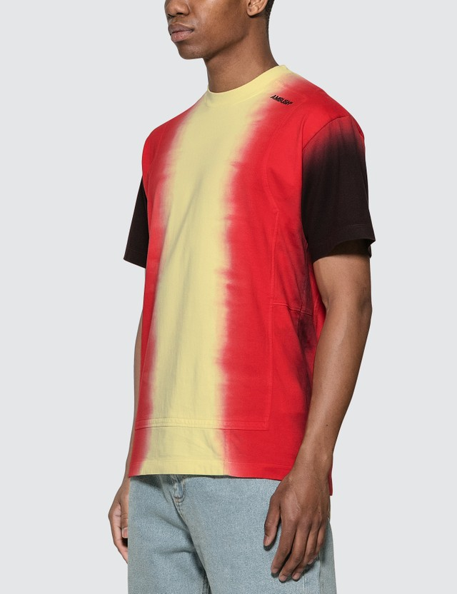 Ambush Tie Dye Paneled T-Shirt =e51 Men