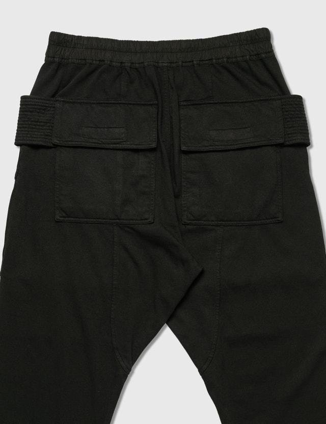 Rick Owens Drkshdw Creatch Cargo Cropped Drawstring Pants