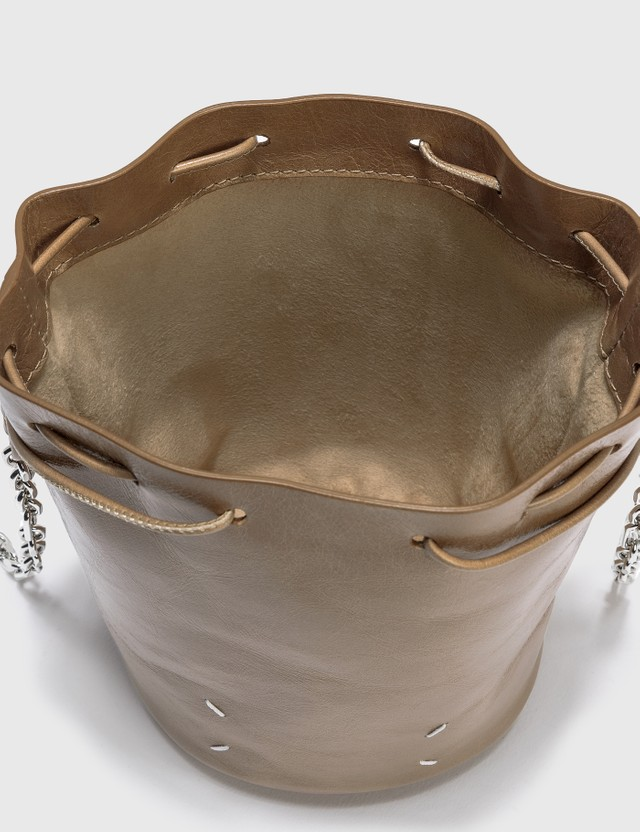 Maison Margiela Tabi Bucket Bag Camel Women