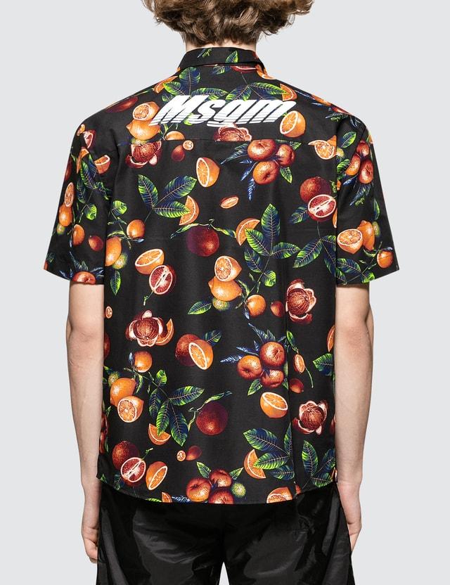 MSGM Orchard Print S/S Shirt