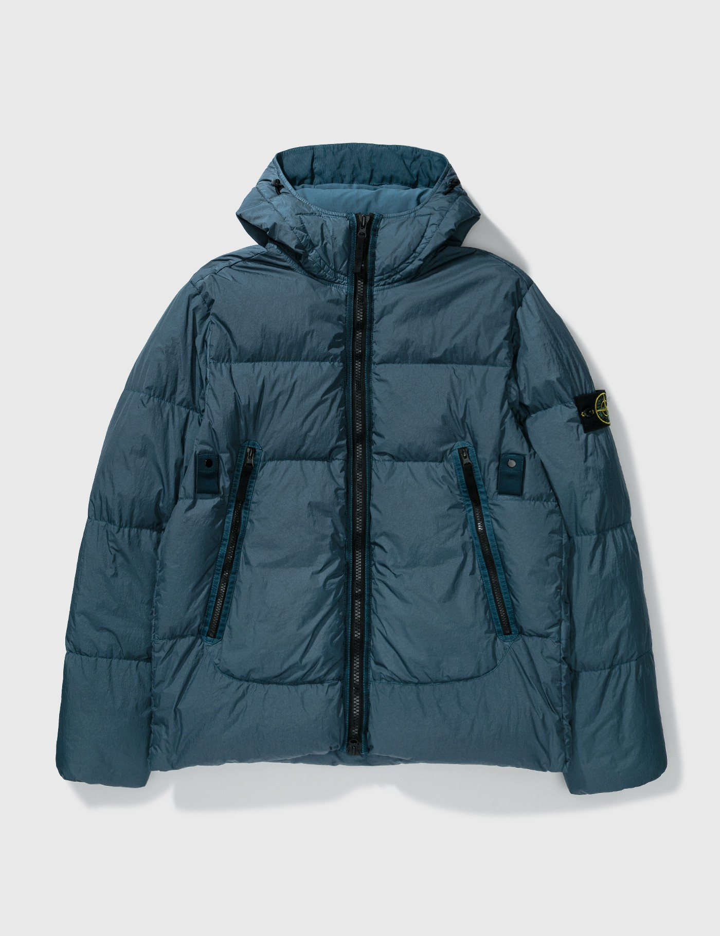 스톤 아일랜드 가먼트 다이 크링클 패딩 자켓 Stone Island Garment Dyed Crinkle Reps Padded Down Jacket