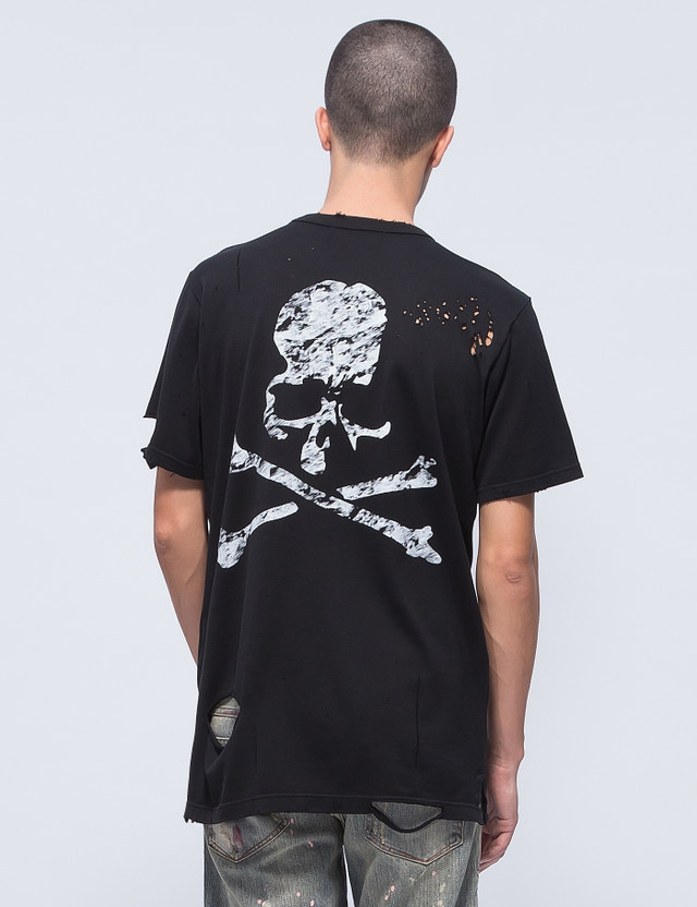 Mastermind Japan Distressed F**k Off S/S T-Shirt (Ver. 5)