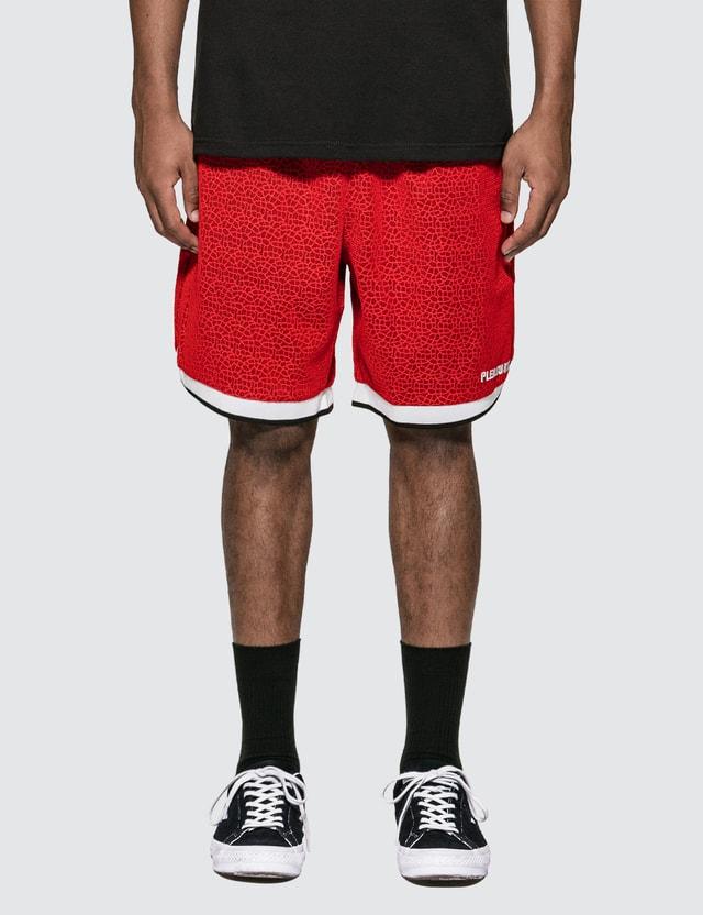 Pleasures Lace Basketball Shorts