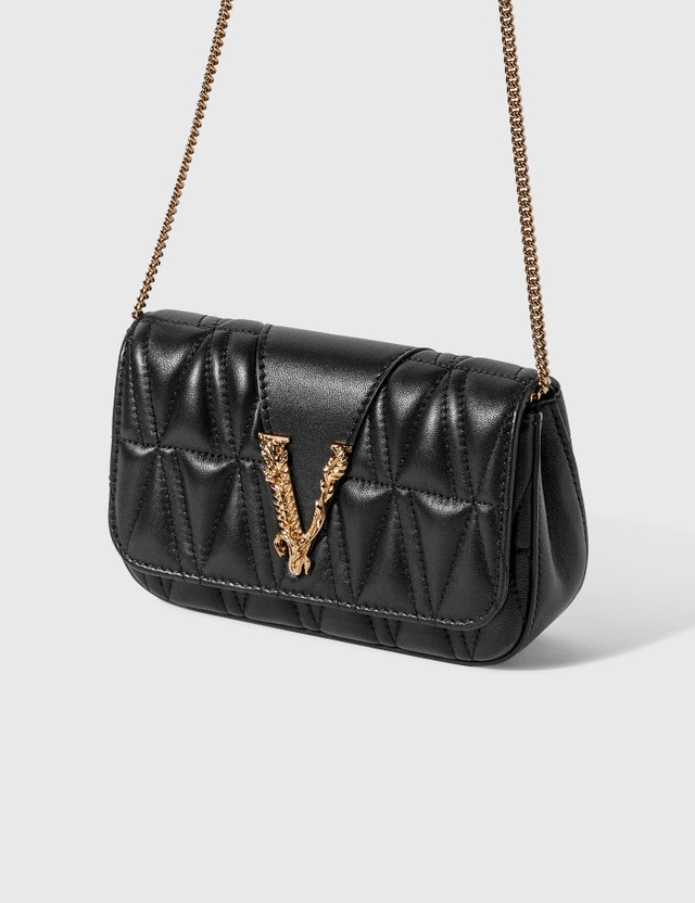Versace Virtus Quilted Evening Bag