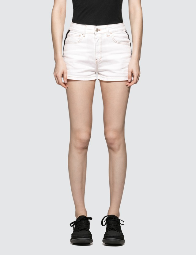 GCDS Denim Band Shorts