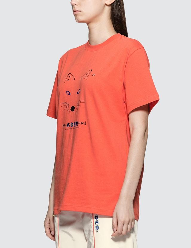 Maison Kitsune Ader Error X Maison Kitsune Fox Mustache T-shirt