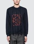 Loewe Anagram Fringes Sweatshirt Picture