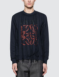 Loewe Anagram Fringes Sweatshirt Picutre