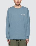 Polar Skate Co. Stroke Logo L/S T-Shirt Picture