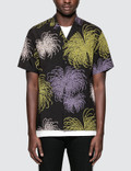 Sasquatchfabrix. Fireworks Notched Collar H/S Shirt Picture