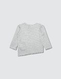 Bash+Sass Asymmetric L/S T-Shirt