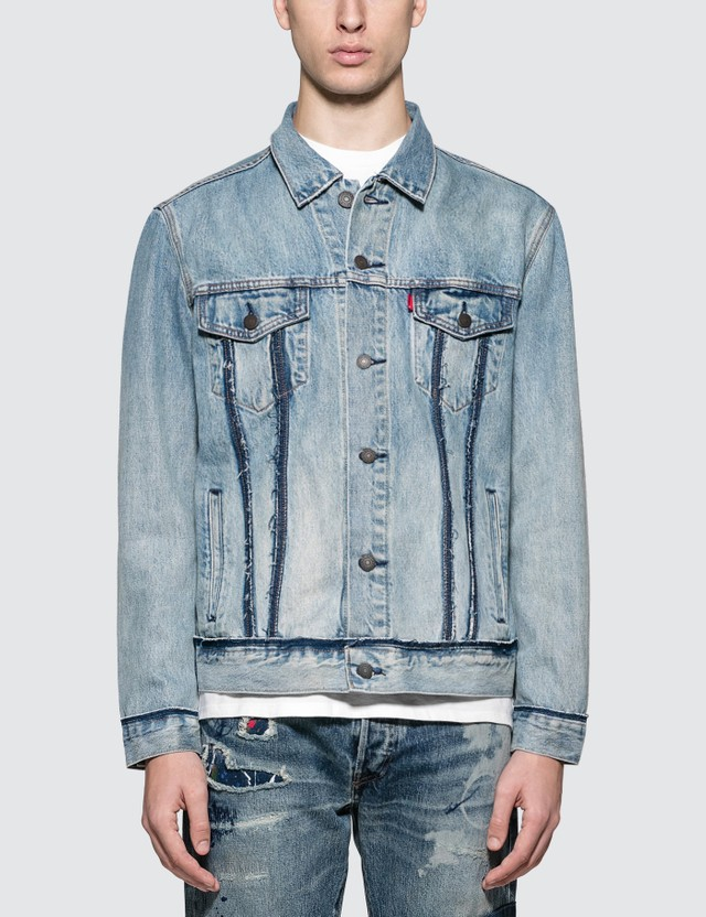 Levi's Inside Out Trucker Denim Jacket