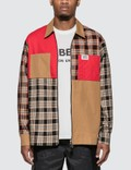 Burberry Color Block Shirt Picutre