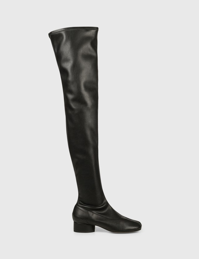 Maison Margiela Tabi Over-the-knee Boots Black Women