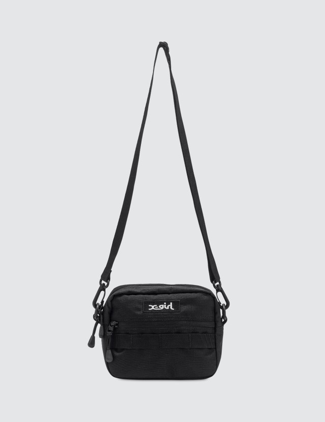 X-Girl Box Logo Shoulder Bag