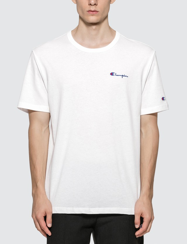 Champion Reverse Weave Small Script Crewneck T-shirt