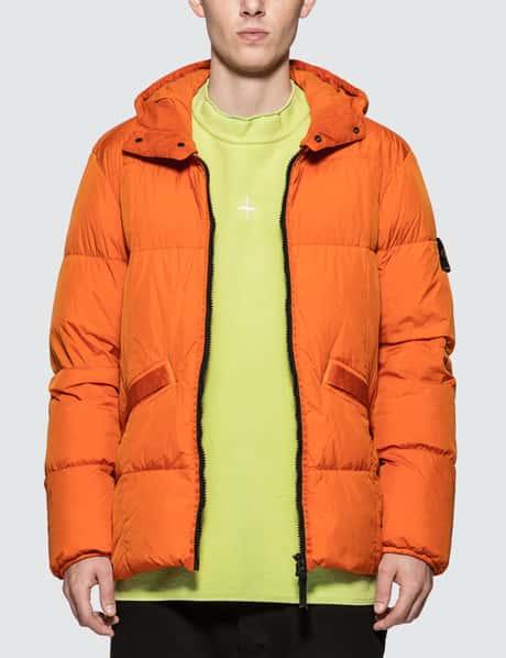 스톤 아일랜드 크링클 렙스 다운 자켓 Stone Island Garment Dyed Crinkle Reps NY Down Jacket